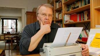 Der Schriftsteller Wilhelm Genazino (2007).