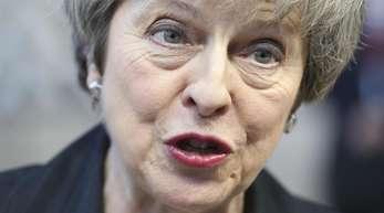 Theresa May, Premierministerin von Großbritannien, warnt vor einer erneuten Volksabstimmung.