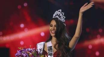 Catriona Gray von den Philippinen ist die neue «Miss Universe 2018».