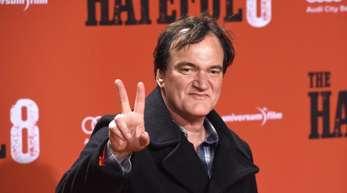 Quentin Tarantino kam mit dem Schrecken davon.