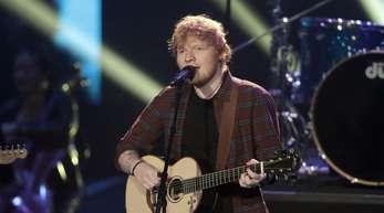Er ist Krösus:Ed Sheeran hat einen neuen Rekord aufgestellt.