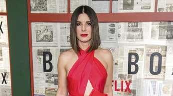 Sandra Bullock stellt die Netflix-Produktion «Bird Box» in New York vor.