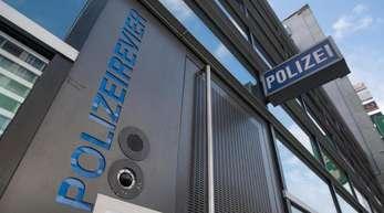 Polizeirevier auf der Zeil in Frankfurt am Main.