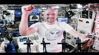 ISS-Astronaut Alexander Gerst.