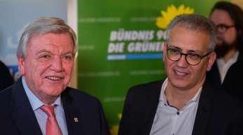 CDU und Grüne wollen ihr Regierungsbündnis in Hessen fortsetzen.