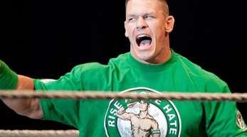 US-Wrestler John Cena ist Auto-Fan und schwärmt er von deutschen Modellen.