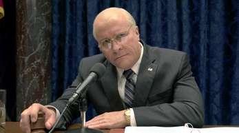 In «Vice» spielt Christian Bale den ehemaligen US-Vizepräsidenten Dick Cheney.