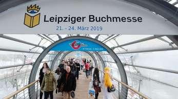 Die Leipziger Buchmesse findet in diesem Jahr vom 21. bis 24. März statt.