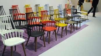 Die internationale Möbelmesse IMM in Köln ist von Freitag an auch für das breite Publikum geöffnet.