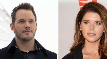 Chris Pratt und Katherine Schwarzenegger haben sich verlobt. Fotos: Maxim Shipenkov;Billy Bennight