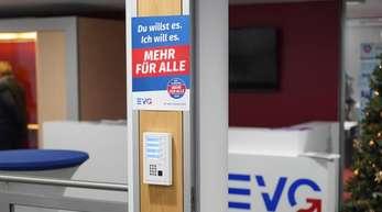 Die Zentrale der Bahn-Gewerkschaft EVG. Die Bahn und die EVG hatten sich bereits im Dezember 2018 auf einen neuen Tarifvertrag geeinigt.