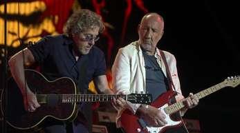 Roger Daltrey (l) und Pete Townshend wollen es wieder wissen.