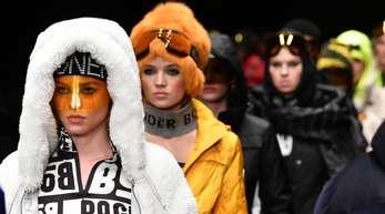 Mode für den nächsten Winter von Bogner in Berlin.