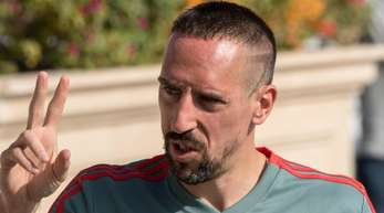 Steht noch bis zum Saisonende beim FCBayern unter Vertrag: Franck Ribéry.