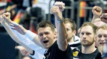 Auch Bundestrainer Christian Prokop ist von der Leistung seines Teams begeistert.