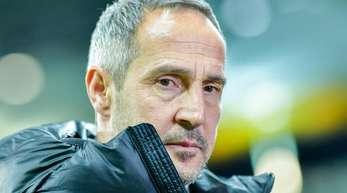 Hat mit Frankfurt die internationalen Plätze im Blick: Eintracht-Coach Adi Hütter.