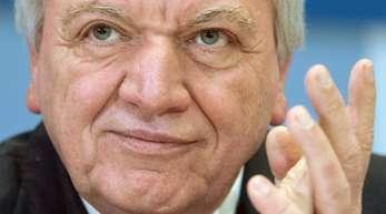 Volker Bouffier will als Ministerpräsident von Hessen wiedergewählt werden.