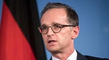 Außenminister Heiko Maas besucht innerhalb weniger Stunden Moskau und Kiew.