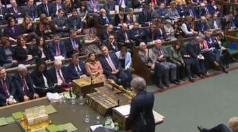 Eine Mehrheit im britischen Parlament für den Brexit-Deal von Premierministerin May ist seiterhin nicht in Sicht.