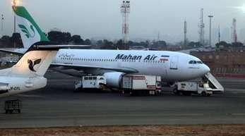 Die iranische Fluggesellschaft Mahan Air darf nicht mehr nach Deutschland fliegen.