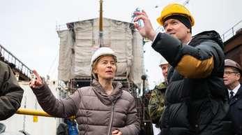 «Ich mache mir sehr große Sorgen um die Gorch Fock», sagte Verteidigungsministerin von der Leyen.