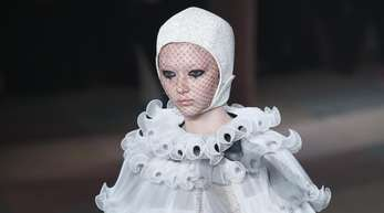 Ein trauriger Pierrot:Dior in Paris.