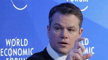 Matt Damon hat sein Kofferproblem nicht aus der Bahn geworfen.