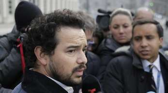 Alejandro Edda vor dem Bundesgericht in Brooklyn.