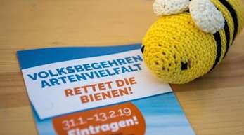 Das Volksbegehren Artenvielfalt zielt auf Änderungen im bayerischen Naturschutzgesetz.