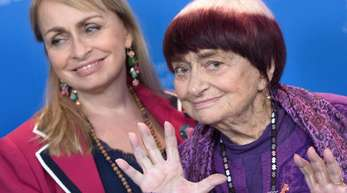 Agnès Varda kam mit ihrer Tochter Rosalie Varda nach Berlin.