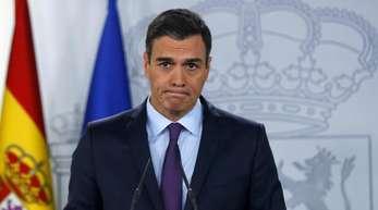 Pedro Sánchez wird die für 2020 geplante Parlamentswahl Berichten zufolge vorziehen müssen.