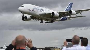 Airbus stellt die Produktion des weltgrößten Passagierjets A380 ein.