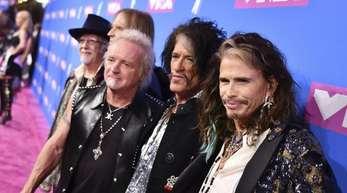 Für Aerosmith ist der 2657. Stern reserviert.