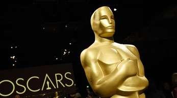 Überlebensgroß: ein Oscar.