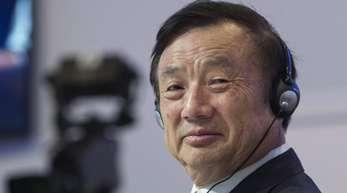 Ren Zhengfei, Gründer und Chief Executive Konzerngründer Ren spricht den USA die Macht ab, Huawei zu zerstören.