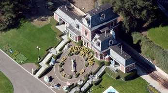 Die Neverland-Ranch von Michael Jackson.