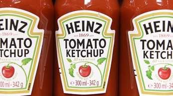 Eines der bekanntesten Produkte von Heinz ist Ketchup.