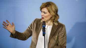 Bundesernährungsministerin Julia Klöckner sagte, es könne jeder im Alltag zu weniger Lebensmittelverschwendung beitragen.
