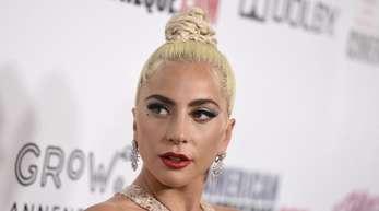 Lady Gaga bei der Verleihung des American Cinematheque Awards.