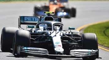 Lewis Hamilton fuhr beim Trainingsauftakt die schnellste Runde.