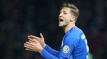 Wurde in die Fußball-Nationalmannschaft berufen: Niklas Stark von Hertha BSC.