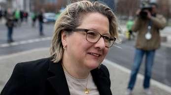 Svenja Schulze (SPD) ist Bundesministerin für Umwelt, Naturschutz und nukleare Sicherheit.
