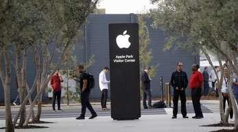 Apples Besucherzentrum im kalifornischen Cupertino.