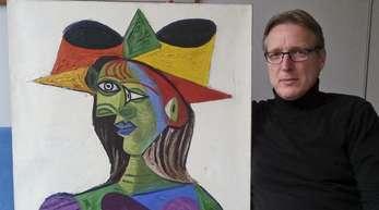 Der niederländische Kunstdetektiv Arthur Brand hat Picassos «Buste de Femme» aufgespürt.