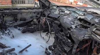Der Neunjährige reagierte geistesgegenwärtig, als er sah, dass das Auto Feuer gefangen hatte.