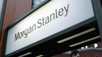 Die Erträge der Goldman-Sachs-Rivale Morgan Stanley sanken um sieben Prozent auf 10,3 Milliarden Dollar.