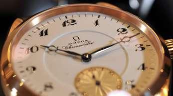 Luxus-Uhren von Omega: Großbritannien ist für die Schweizer Uhrenhersteller der fünftgrößte Exportmarkt.