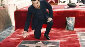Seht her, mein Stern: Seth MacFarlane auf dem Hollywood «Walk of Fame».