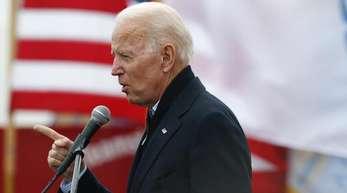 Joe Biden, ehemaliger Vizepräsident der USA, will bei der kommenden Präsidentschaftswahl 2020 gegen Amtsinhaber Trump antreten.
