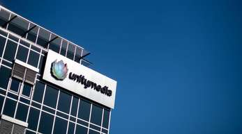 Die Unternehmenszentrale von Unitymedia in Köln. In Nordrhein-Westfalen, Hessen undBaden-Württemberg stellt Unitymedia nach eigenen Angaben mehr als eine Million Hotspots zur Verfügung.
